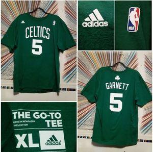 Adidas/NBA Boston Celtics #5 KevinGarnett TeeShirt